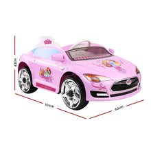 Load image into Gallery viewer, Disney Princess Ride On Electric Car- Pink - eRider.com.au