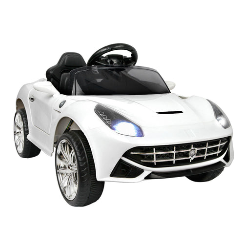 Kids Ride on Ferrari F12 Electric Sport Car White - eRider