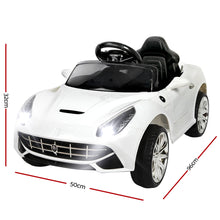Load image into Gallery viewer, Kids Ride on Ferrari F12 Electric Sport Car White - eRider