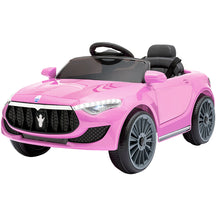 Load image into Gallery viewer, Maserati S Electric Car Kids - Pink - eRider