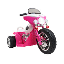 Load image into Gallery viewer, Rigo Kids Ride On Police Motorbike Motorcycle Toys Pink - eRider