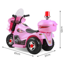 Load image into Gallery viewer, Rigo Kids Ride On Motorbike Motorcycle Car Pink - eRider