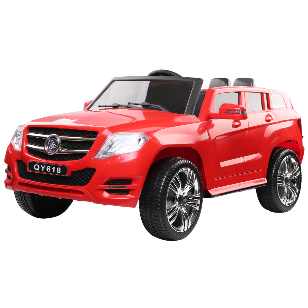 Rigo Kids start button Ride On Electric Car Mercedes Benz ML 450 - Red - eRider.com.au