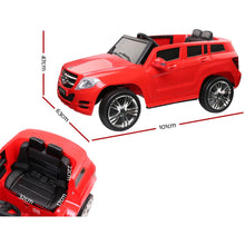 Load image into Gallery viewer, Rigo Kids start button Ride On Electric Car Mercedes Benz ML 450 - Red - eRider.com.au