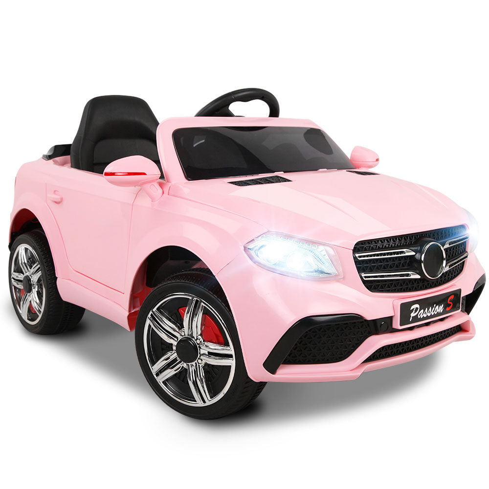 Rigo Kids Ride On Electric Car Mercedes Benz GLE 63 Pink - eRider