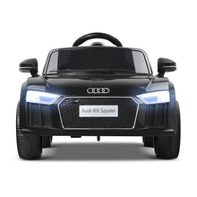 Load image into Gallery viewer, Kids Ride On 12V Electric Car Audi R8 Licensed Black - eRider