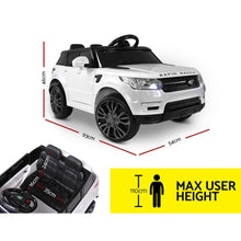 Load image into Gallery viewer, Range Rover Replica Electric Car - White - eRider