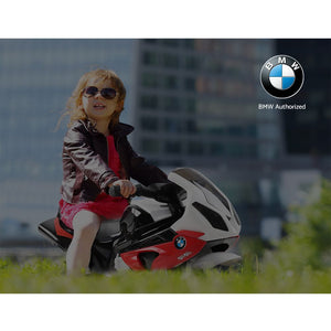Kids Ride On Motorbike BMW Licensed S1000RR Motorcycle Red - eRider