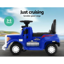 Load image into Gallery viewer, Rigo Ride On Electric Car Electric Truck Blue - eRider.com.au