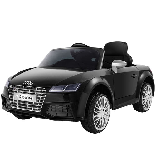 Ride On Cars Electric Car Audi TT RS Roadster Licensed Black - eRider.com.au