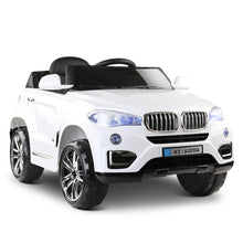 Load image into Gallery viewer, BMW X5 S Replica Electric Car - White - eRider