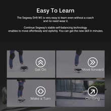 Load image into Gallery viewer, Xiaomi Ninebot Segway Drift W1 E-Skates Electric Self-balancing Drift Board for Adults and Kids 12km/h Max Speed - eRider