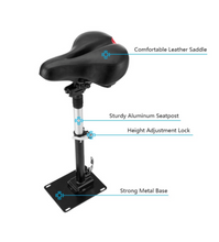 Load image into Gallery viewer, Electric Skateboard Saddle for Xiaomi Mijia M365 Scooter Foldable Height Adjustable Shock-Absorbing Folding Seat Chair - eRider