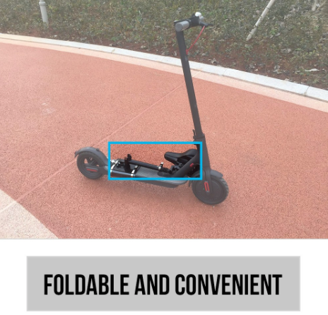 Electric Skateboard Saddle for Xiaomi Mijia M365 Scooter Foldable Height  Adjustable Shock-Absorbing Folding Seat Chair