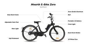 MEARTH ELECTRIC BIKE ZERO - eRider