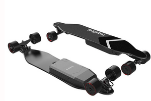 Maxfind 4 Series - Four Wheel Electric Longboard Skateboard Max 4, 1000W Single Motor Wireless Remote Controller - eRider