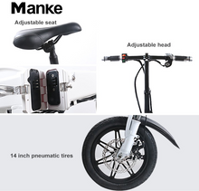Load image into Gallery viewer, Manake MK 081 - The classic folding electric bike - eRider