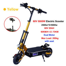 Load image into Gallery viewer, JueShuai (JS) 5000W Powerful Foldable Electric Scooter Off Road Skateboard High Speed 95km/h - eRider.com.au