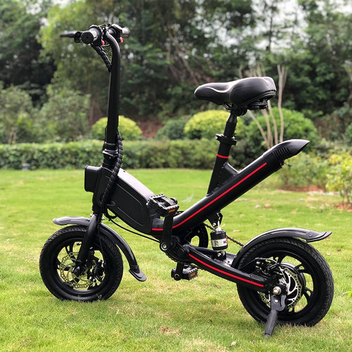 Janobike Folding Adults Electric Bicycle Lithium Battery Moped Mini E Bike - eRider.com.au