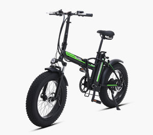 Sheng milo Electric Bicycle 500W 4.0 Fat Tire 48v 15AH lithium battery electric folding bike - eRider