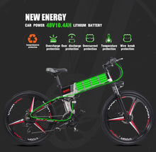 Load image into Gallery viewer, Sheng milo 26 inch folding electric mountain bicycle on-road & off-road - eRider