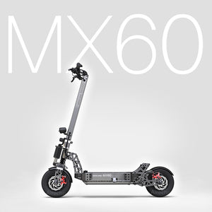 "Mercane MX60 Foldable Kickscooter Smart Electric Scooter 2400W 10 / 20AH60km/h 11"" Tire Dual Brake - eRider"