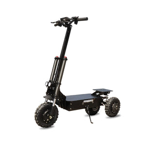"JueShuai (JS) 80KM/H Foldable Electric Scooter Powerful 3x1600W Motor 11"" Three Motor Wheel Samsung 42AH"