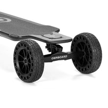 "Load image into Gallery viewer, Ownboard Carbon AT 3000W 40"" All Terrain Electric Skateboard with Dual Belt Motor 14AH battery Carbon Fibre - eRider"