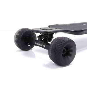 "Ownboard Carbon AT 3000W 40"" All Terrain Electric Skateboard with Dual Belt Motor 14AH battery Carbon Fibre - eRider"