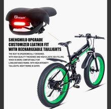 Load image into Gallery viewer, Sheng milo Electric Bicycle 1000W 4.0 26inch Fat Tire 48V Mountain Snow Bicycle - eRider