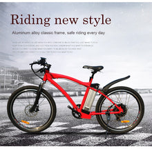 "Load image into Gallery viewer, JueShuai (JS) MTB 48V 500W Electric Mountain Bicycle 48V 12ah Lithium Battery 26"" Tyre 2.125 - eRider.com.au"
