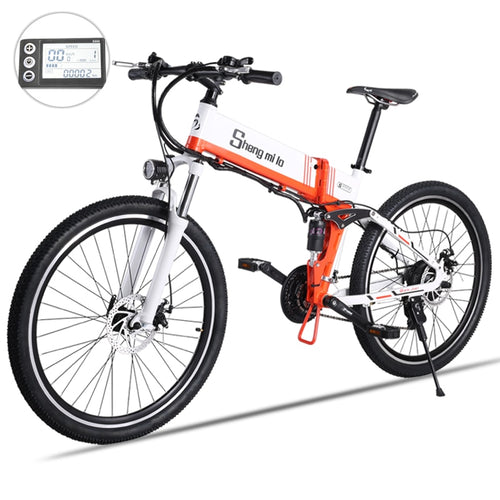 Sheng milo Electric bicycle 48V 500W assisted mountain bicycle lithium electric bicycle Moped - eRider