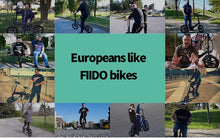 Load image into Gallery viewer, Original FIIDO D3 Folding Electric Bicycle E-Bike 7.8Ah 25km/h 40 km mileage 17.5kg - eRider