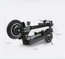 Load image into Gallery viewer, Janobike Folding Electric Scooter Double Motor 52V/2000W 10 inch Road Tire - eRider.com.au
