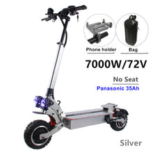 Load image into Gallery viewer, FLJ SK3 72V 7000W Electric Scooter with Dual Motors Engines Acrylic Led Pedal Top Speed - eRider.com.au