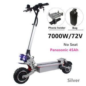 FLJ SK3 72V 7000W Electric Scooter with Dual Motors Engines Acrylic Led Pedal Top Speed - eRider.com.au