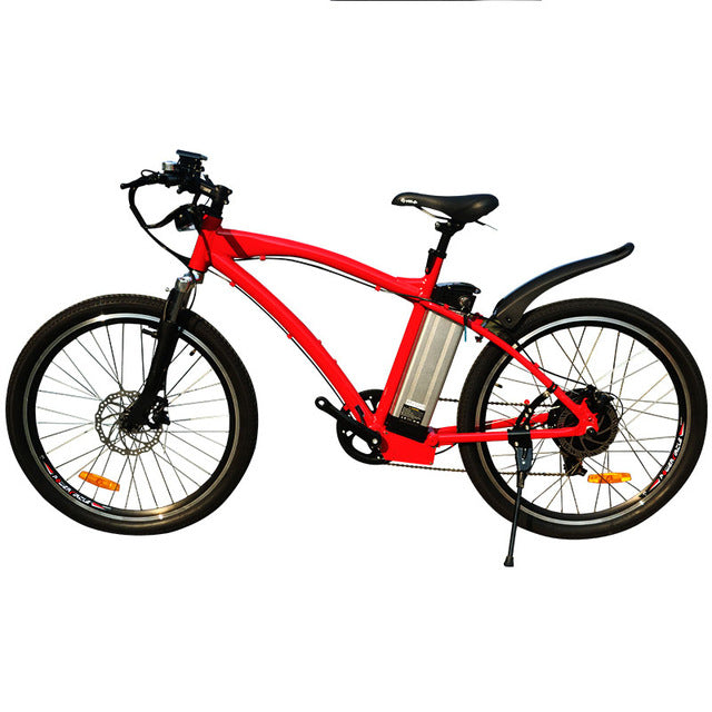 JueShuai (JS) MTB 48V 500W Electric Mountain Bicycle 48V 12ah Lithium Battery 26