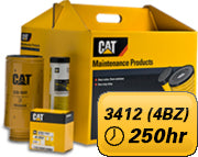PM Kit 250 hours for Cat® 3412 (PM-1-4BZ)