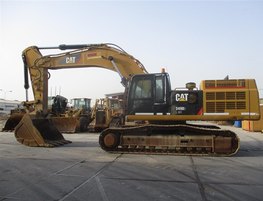 CAT<sup>®</sup> Certified Used 349D Excavator