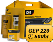 PM Kit 500 hours for Mantrac Cat® GEP 220