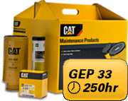 PM Kit 250 hours for Mantrac Cat® GEP 33