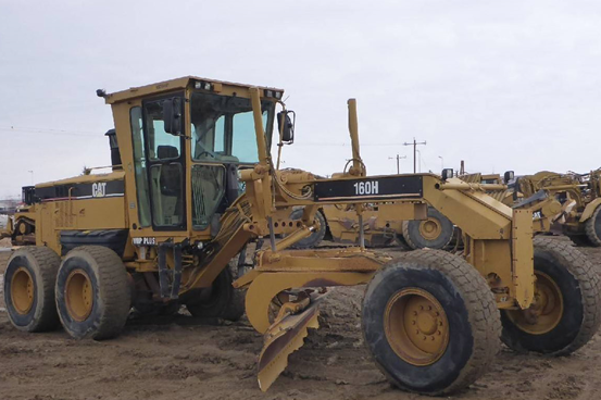 CAT<sup>®</sup> Certified Used 160H Motor Grader