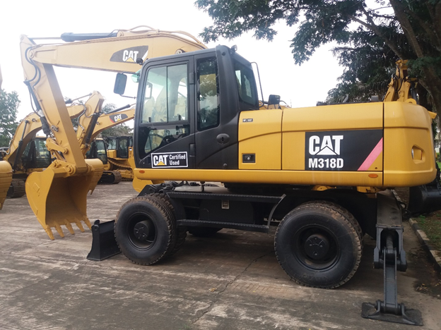CAT<sup>®</sup> Certified Used M318D Wheel Excavator