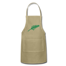 Load image into Gallery viewer, Harshtag Leaf Adjustable Apron - khaki