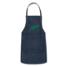 Load image into Gallery viewer, Harshtag Leaf Adjustable Apron - navy