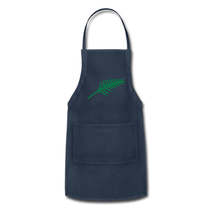 Harshtag Leaf Adjustable Apron - navy
