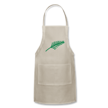 Load image into Gallery viewer, Harshtag Leaf Adjustable Apron - natural