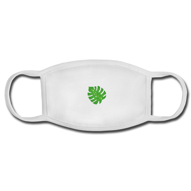 Purifying leaf Face Mask - white/white