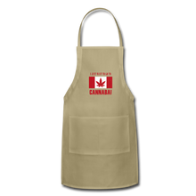 Load image into Gallery viewer, I just want to go to Canaba Adjustable Apron - khaki