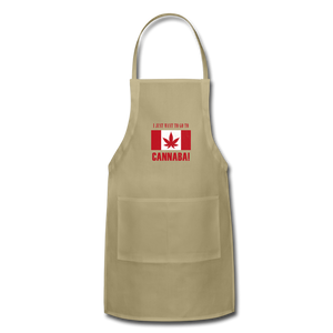 I just want to go to Canaba Adjustable Apron - khaki